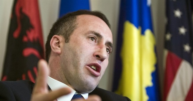Kosovo says French police have detained its former premier