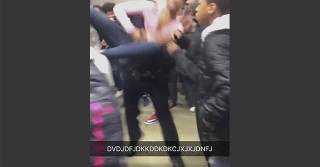 Student: Girl slammed to ground was trying to break up fight