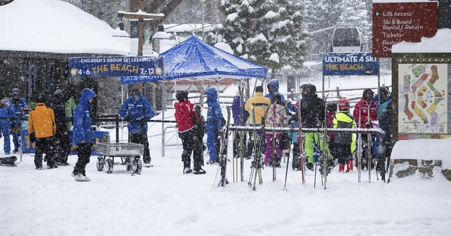 The Latest: Skier dies while being treated for hypothermia
