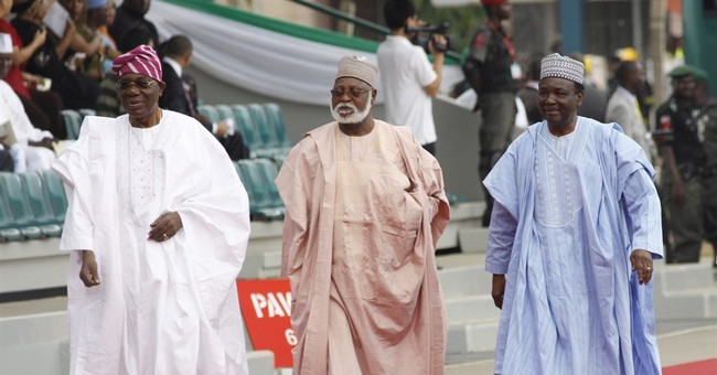 Former Nigerian leaders sing for peace, acknowledge 'mess'