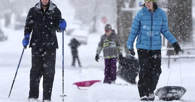 Winter storms pummel West; Oregon girl killed