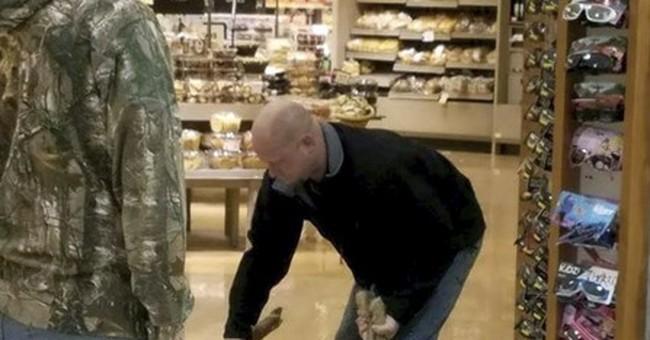 Deer runs amok inside supermarket, gets wrangled by shoppers