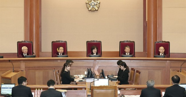 Impeached S. Korea leader cancels questioning over scandal