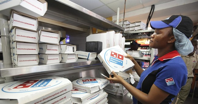 Domino's Pizza launches wedding registry before Valentine's