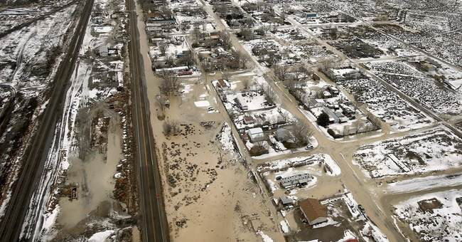 Nevada county declares emergency after earthen dam fails