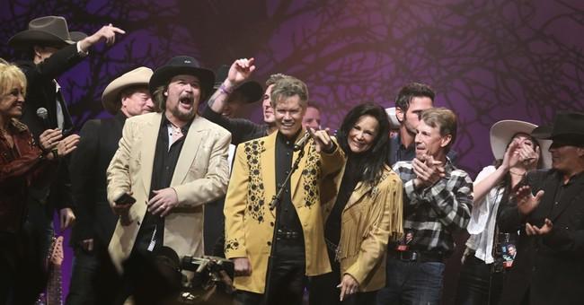 Music community honors Randy Travis in song