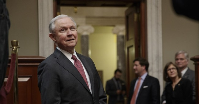 In first day, attorney general vows to get tough on crime
