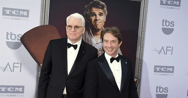 Jokes not politics when Steve Martin, Martin Short team up