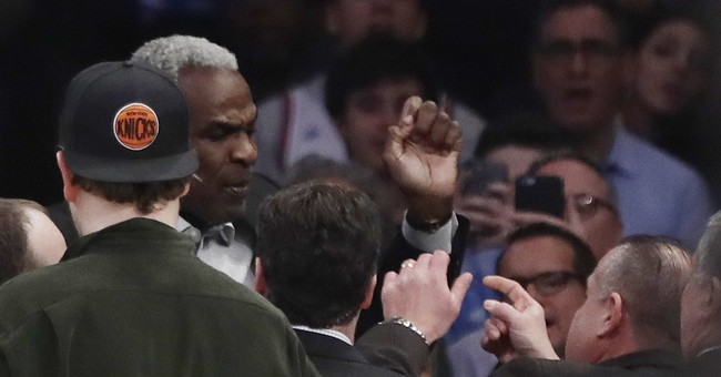 Oakley arrested at Garden; Knicks cite 'abusive' conduct