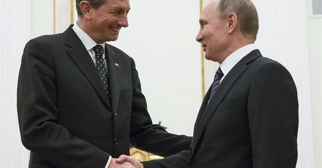Putin hails Slovenia's offer to host his meeting with Trump