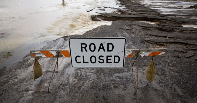 Ice jam breaks, allowing some Idaho flood waters to recede
