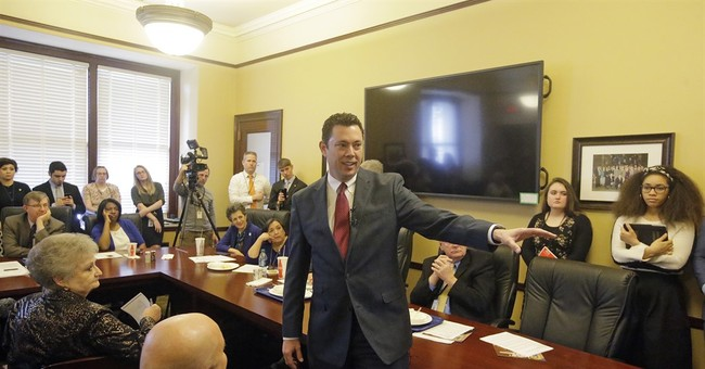Chaffetz faces harsh criticism during packed town hall