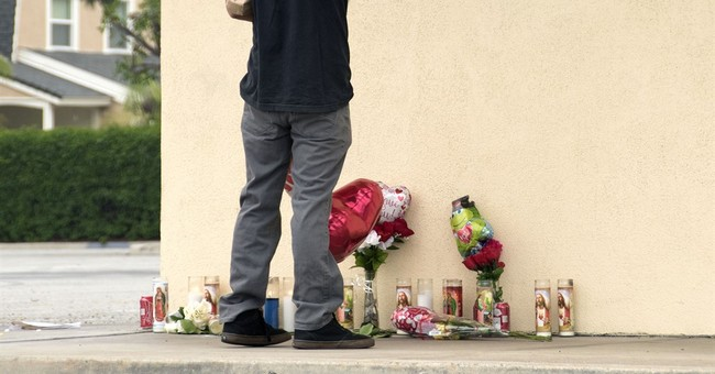 Mourner run down and killed at shrine for shooting victim