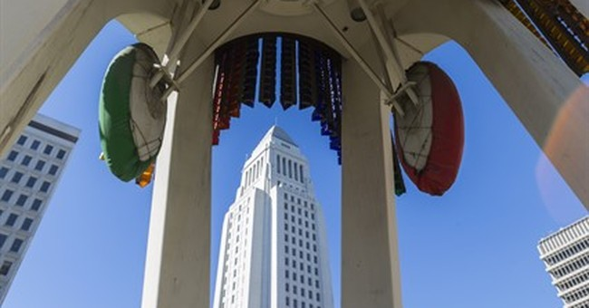 LA tower ridiculed as '$1 million jukebox' may get face-lift