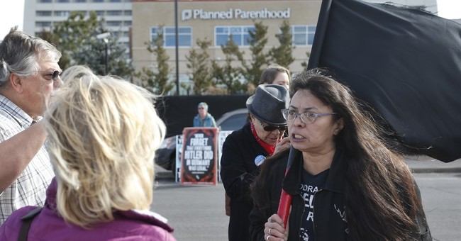 Anti-abortion activists, counter-protesters rally around US