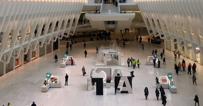 Woman falls to her death inside World Trade Center Oculus