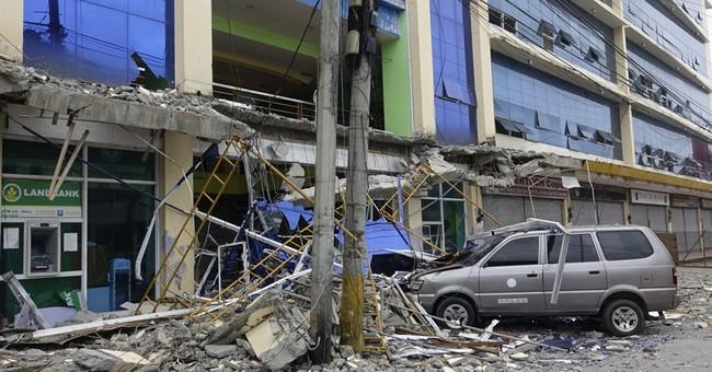 Aftershocks rattle survivors after Philippine quake kills 8