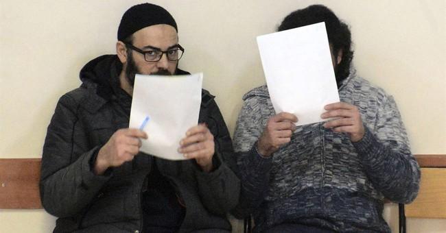 Turkey arrests 2 suspected Islamic State militants