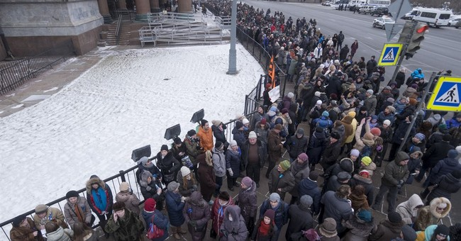Protests mark cathedral's return to Russian Orthodox control