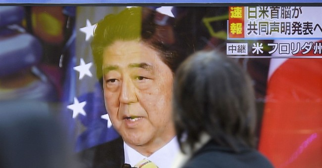 Abe says he sought common goals, not differences with Trump