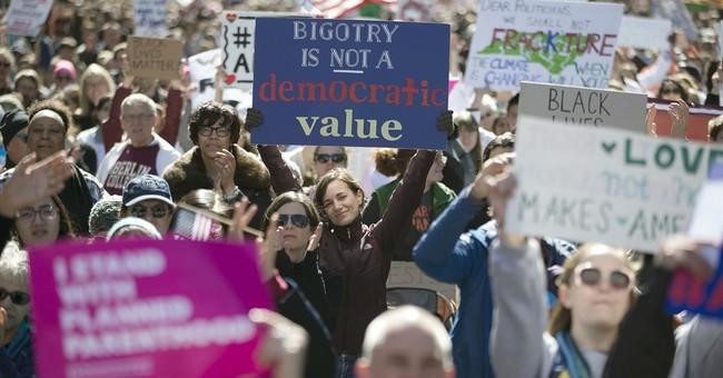 Massive North Carolina crowd protests Trump, anti-LGBT law