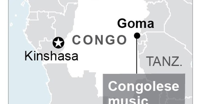 Congolese music festival for peace draws tens of thousands