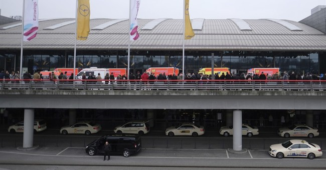 Officials say Hamburg airport scare was likely pepper spray