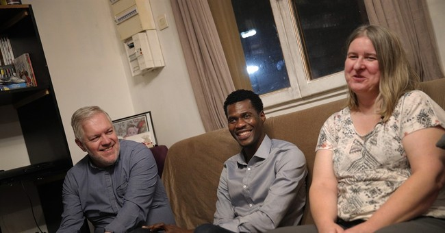 After much hardship, refugee finds a home with French family