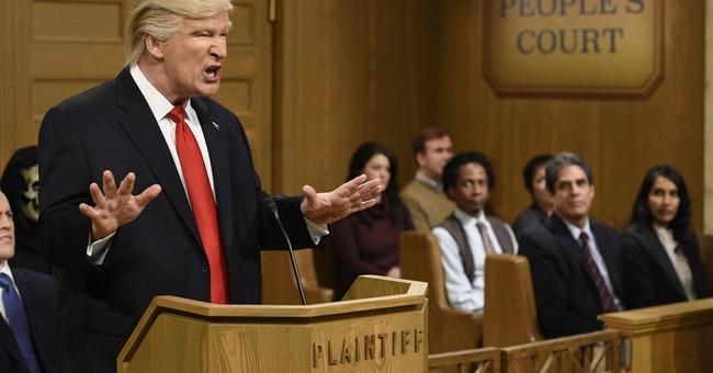Host Alec Baldwin, 'SNL' cast skewer Trump White House