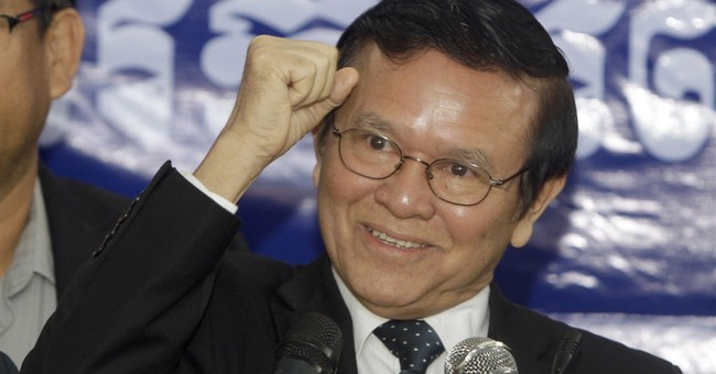 Cambodian opposition names acting chief after leader resigns