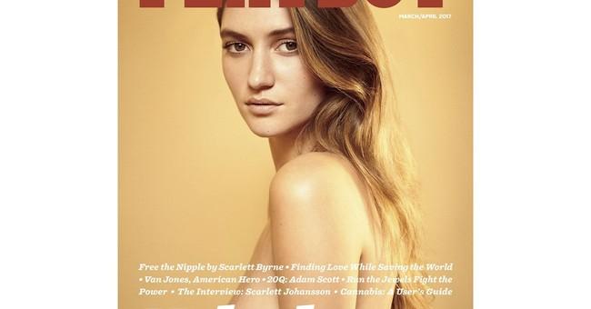 Playboy magazine reverses position, brings back naked women