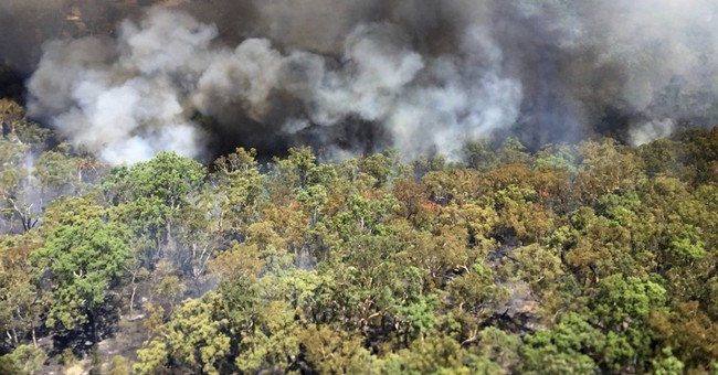 Homes destroyed in fierce Australian wildfires