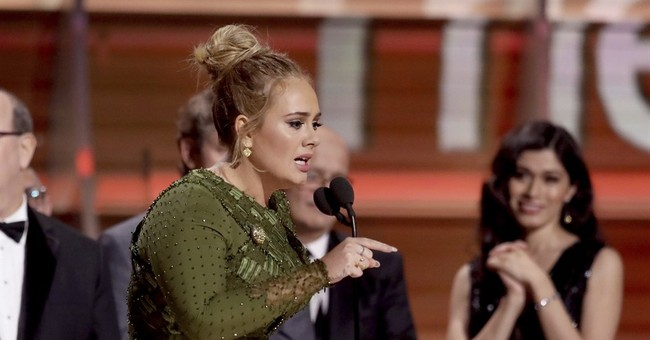 Hello to marriage? Adele thanks 'husband' at Grammys