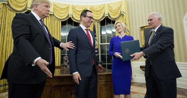 Senate confirms former banker Mnuchin as Treasury secretary