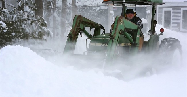 The Latest: Maine town gets 30 inches of snow