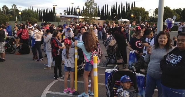 Investigators probe fire that burned 8 cars at Disneyland
