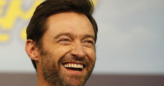 Hugh Jackman shows off bandaged nose after cancer treatment