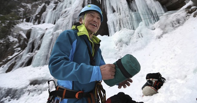 Ice climbing: Part adrenaline rush, part puzzle-solving test