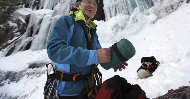 Ice climbing: Part adrenaline rush, part puzzle-solving test