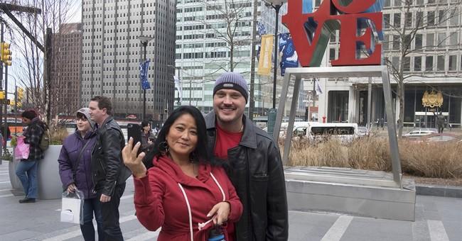 Bye-bye, LOVE: Iconic Philadelphia sculpture gets repairs