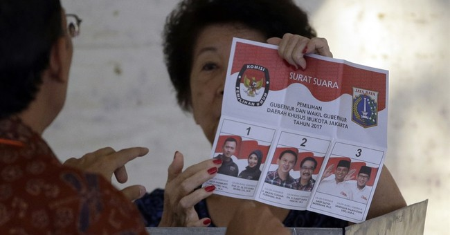 Indonesian capital votes in test for moderate values