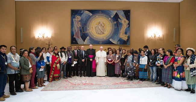 Pope Francis: Native people have rights over their lands