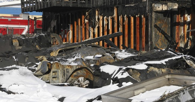Anchorage apartment complex fire kills 2, injures 16