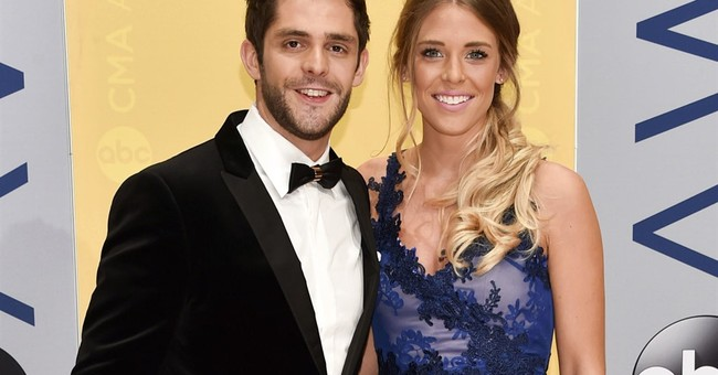 Country singer Thomas Rhett's family is growing by 2