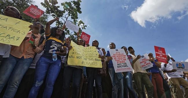 7 Kenya medics union officials freed; strike continues