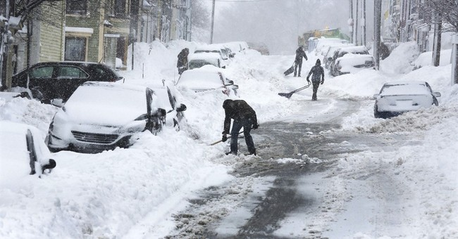 2 New England states battle more snow after nonstop storms
