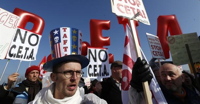 Trudeau hails EU-Canada trade deal in speech to EU lawmakers