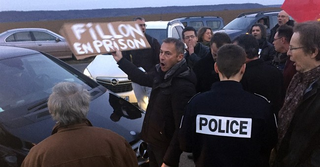 French candidate Fillon floats prosecuting teens as adults