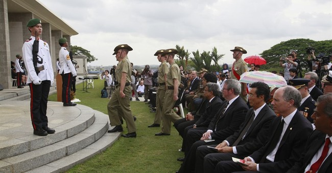 Memorial ceremony marks fall of Singapore to Japanese troops