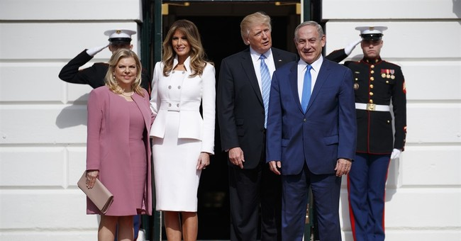 The Latest: Netanyahu calls Trump great supporter of Israel